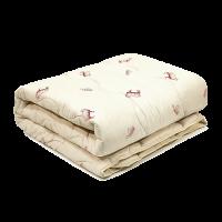 Одеяло шерстяное стеганое Вилюта Premium 140х205