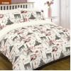 Комплект постельного белья Вилюта двуспальный ранфорс 12599