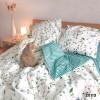 Комплект постельного белья Вилюта двуспальный ранфорс 20113