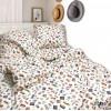 Комплект постельного белья Вилюта полуторный ранфорс 20125