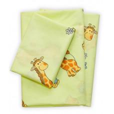 Комплект постільної білизни Вилюта дитячий ранфорс 5507 зелений
