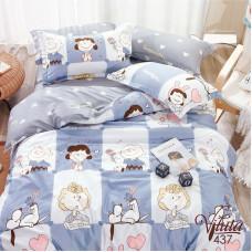 Комплект постельного белья Вилюта подростковый Вилюта Сатин Twill 437