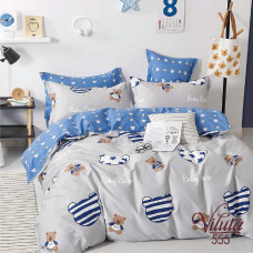 Комплект постельного белья Вилюта подростковый Вилюта Сатин Twill 555