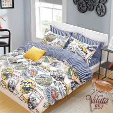 Комплект постельного белья Вилюта подростковый Вилюта Сатин Twill 557