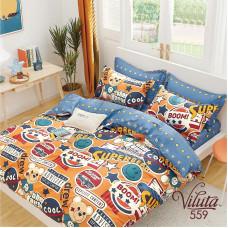 Комплект постельного белья Вилюта подростковый Вилюта Сатин Twill 559