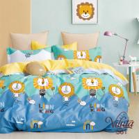 Комплект постельного белья Вилюта подростковый Вилюта Сатин Twill 561
